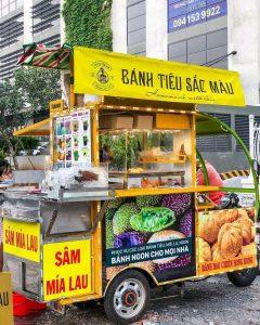 Bánh tiêu sắc màu ở Quận 8: Vừa ngon vừa rẻ cho dân Sài Gòn